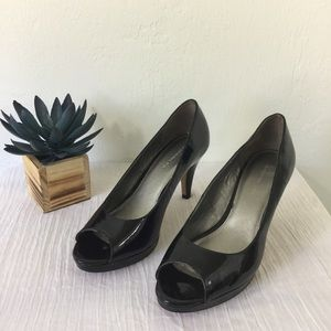 Bandolino Peep Toe Heels - Mylah